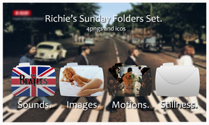 -Richie's Sunday Folders Set- by Hemingway81