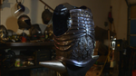 Show real for the Completed Skeleton Breastplate! by TimeTurbine