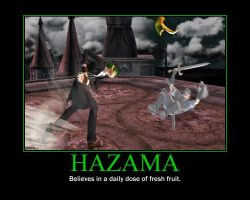 Brawl Hazama motivational thing by GlassMan-RV