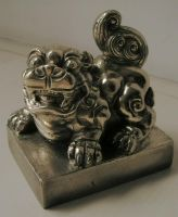 my Royal Lion copper Seal by Scottvisnjic