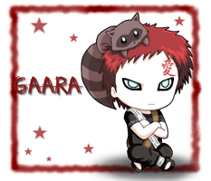 Naruto: Chibi Gaara by The-PirateQueen