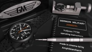 German Military PVD Chrono-04 by VaultAvenger
