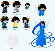 New Fantroll Sprite Sheet by ImagineitSplotched