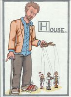 House, MD: House's Puppets by angelacapel