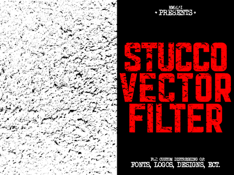 Stucco vector filter by mmolai