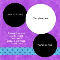 Circles Scrapbook Quickpage by tash11