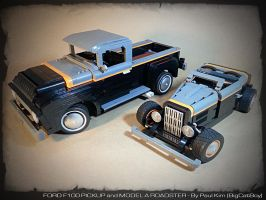 Lego MOC: Ford Duo by SeawolfPaul
