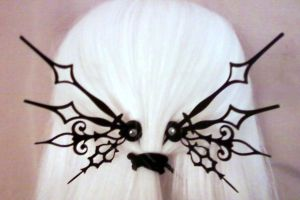 Whimsy Noir Steampunk HairPick by pervyyaoifancier