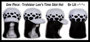Trafalgar Law's Timeskip Hat by LiliNeko