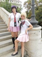 Izumo and Shiemi 4 by Black-Sheep-NI