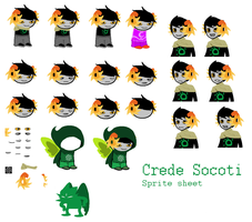 Crede Socoti Sprite Sheet by PalmTreeFromHell