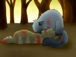 -Rainwind's Newfound Grief- by Spottedfire-cat