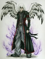 Angel of Darkness: Riku by CreativeKender