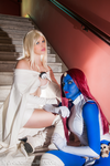 White Queen and Mystique by Yukilefay