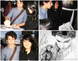 Meeting Nick Jonas by artisticlyanne