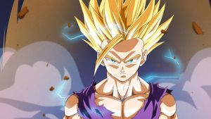 SSj2 Gohan :Preview: by moxie2D