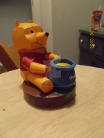 Winnie-the-Pooh Papercraft by DraikenTalkos