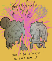 Happy Independance Day by zeroofvoid