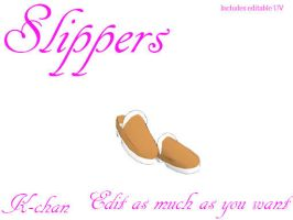 Slippers DL by K-chan619
