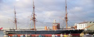 HMS Warrior i by makibird