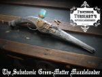 The Sub-Atomic Muzzleloader by tursiart