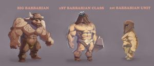 Barbarian by BADpoussin