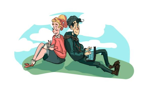 Betty and Jughead by Paulycat