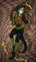 Lodan: Bill the Lizard by Little-Imp-Rin