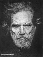 Jeff Bridges by otong666