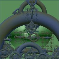 triumphal arch  ornaments by GLO-HE