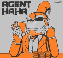Agent Haha in Casino by 4eknight11