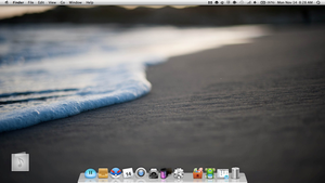 MacBook Air 2011 model Lion 10.7.2 SS by klouud