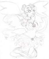 CSW - Silver Moon Sketch by Wildnature03