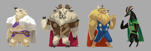 Thor animals by oso-oso