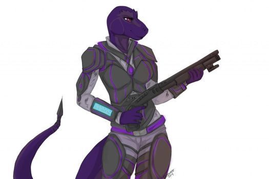 Faula's Professional Armour, by kittentits by JerreyRough