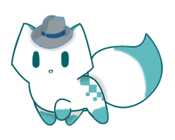 Detective Chester KiriKitty by Leafykins