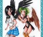:COLLAB: But you're not a harpy!? by Elythe