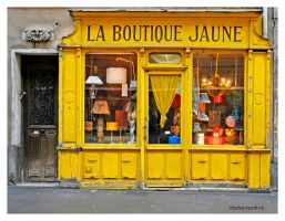 Boutique jaune by mimomon