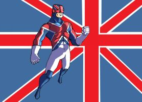 Captain Britain by jdcunard