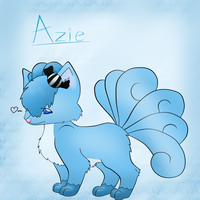 Azie the Vulpix Contest Entry by DarkMetaWolf64