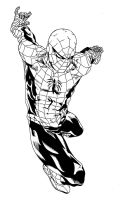 Spider-Man inks by Leandro-Damasceno