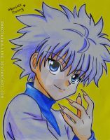 Killua - Drawing by DakotaRaulling