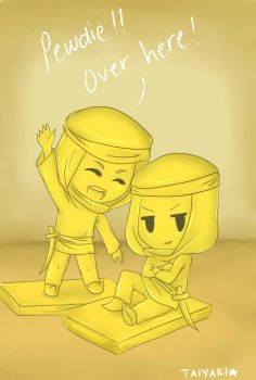 Stephano and Gonzales by TaiyakiDesu
