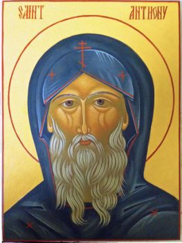 St. Anthony the Great by ArstyRev