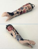 Tattooed Arm by asunder
