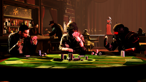 Poker Night by WitchyGmod