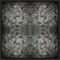 cracked up concrete square by feldrand