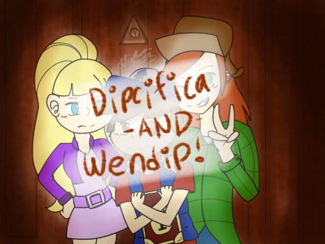 Dipcifica-AND-wendip [GROUP ICON] by fluffythehedgehog12