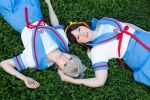 Haruhi and Yuki by cupcakecosplay