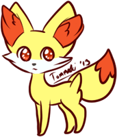Fennekin Fennekin~ by Contract-Bound